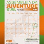 PSD convoca Assembleia da Juventude em Albergaria. EU VOU!