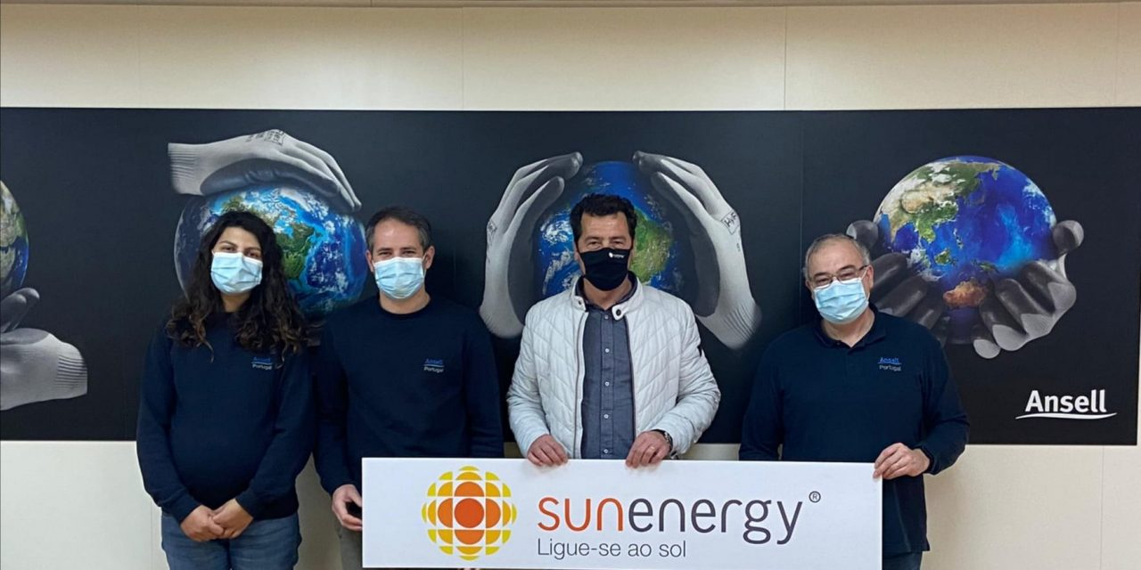 SunEnergy instala mais de 1.000 painéis e permite uma poupança de 70 mil euros anuais à Ansell Portugal
