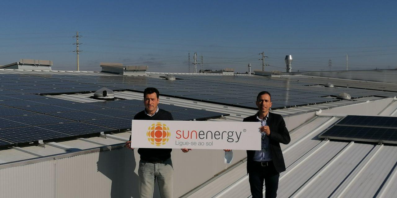 540 painéis solares instalados pela SunEnergy permitem reforçar a autossuficiência energética do Grupo HFA