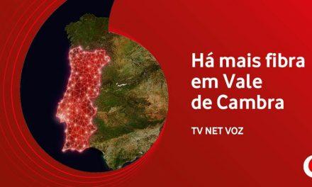 Vodafone expande fibra em Vale de Cambra