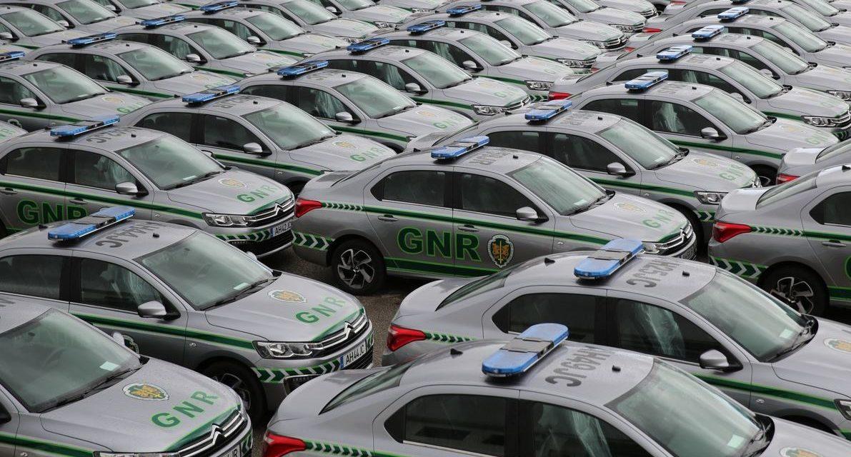 GNR – Distribuição de 115 novas viaturas à GNR