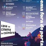 Cinema Fora de Portas – 1.º Ciclo Itinerante de Cinema ao Ar Livre :: Programa
