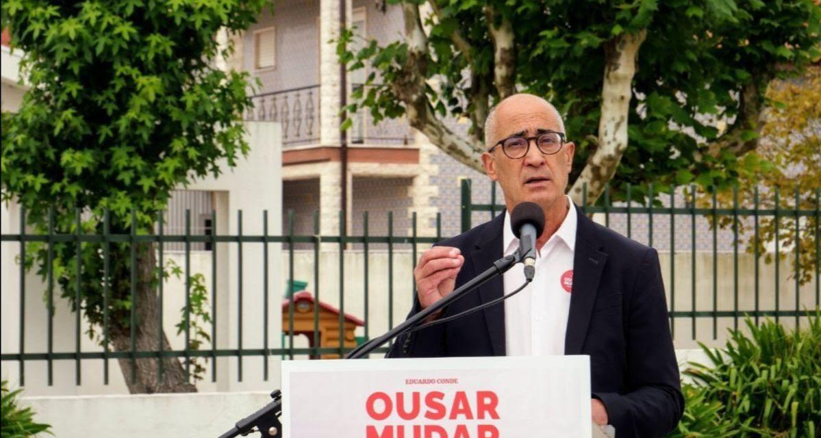 Eduardo Conde quer saneamento básico em todo o concelho até 2025